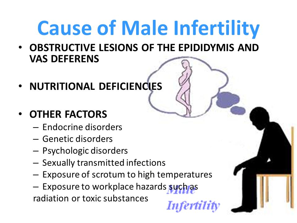 8 Common Causes of male Infertility - Get Natural Fertility Tips & Treatment