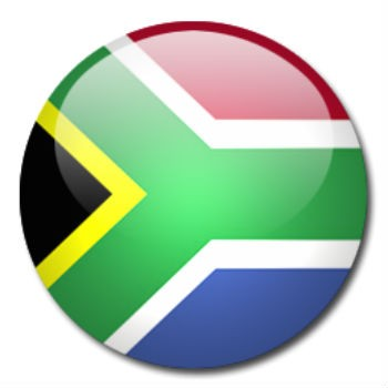 South Africa Flag - Death Begins with a Dirty Colon - Clean Colon with Aloe Vera Gel