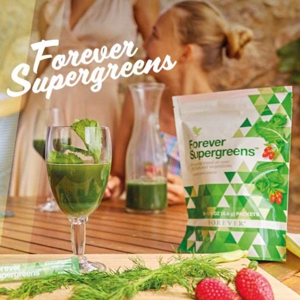 Superfood! Forever Supergreens! Spirulina Super greens
